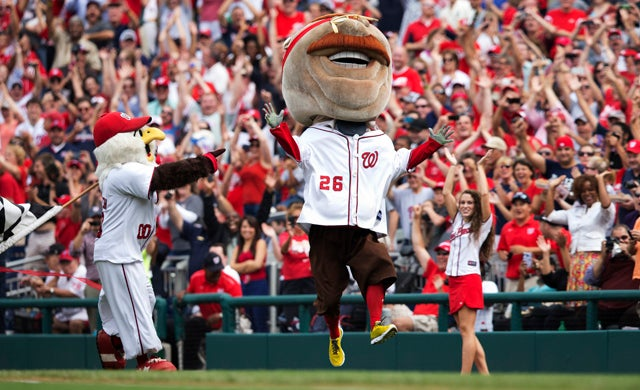 93 Years After His Death, Teddy Roosevelt Finally Wins The Presidents Race At Nationals Park