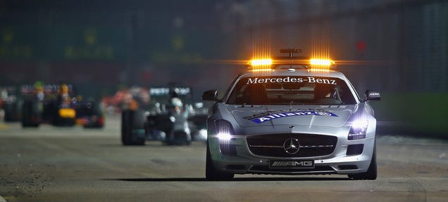 F1 Tests 'Virtual Safety Car' That Forces Drivers To Slow Down
