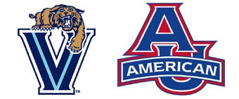 NCAA First Round: (3) Villanova vs. (14) American