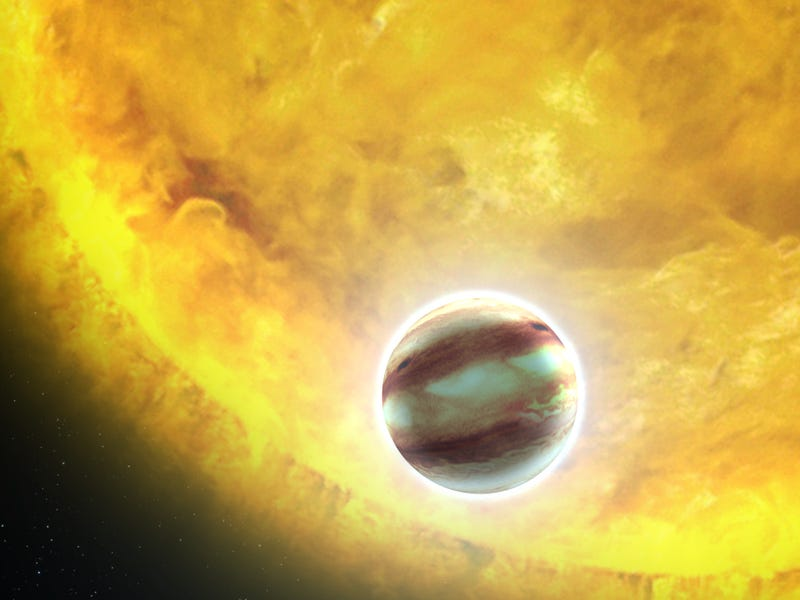 Astronomers Map the Extreme Weather of a Distant Hot Jupiter