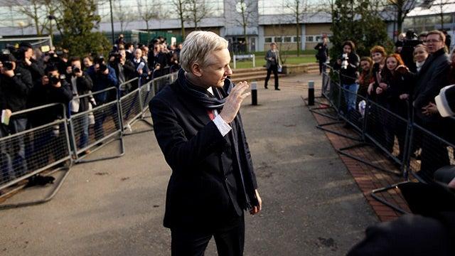 Julian Assange Appeals Extradition to Sweden
