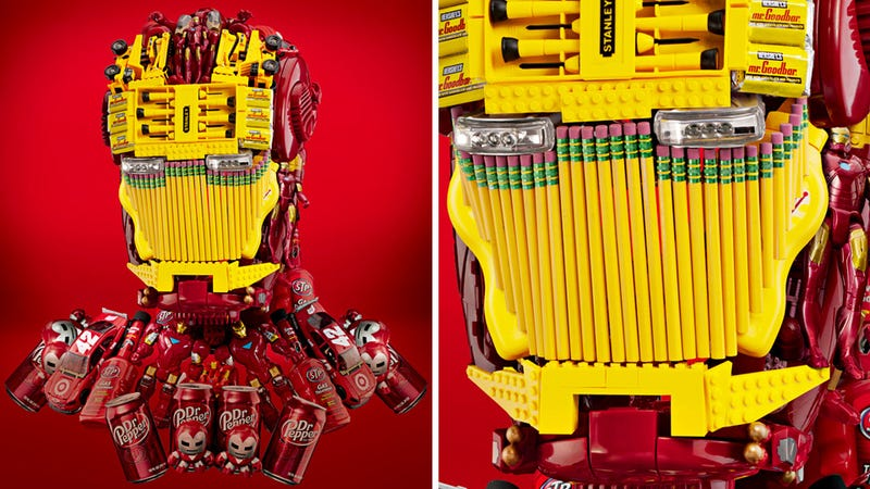 Target Assembles Everyday Stuff For These Awesome Avengers Ads