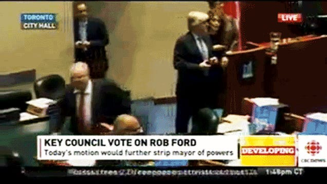 """Oh My God, He's Attacked Somebody!"" Rob Ford Goes On Rampage"