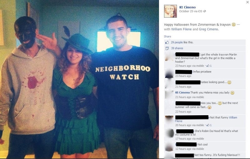 Because Mere Blackface Wasn't Offensive Enough For These Partiers