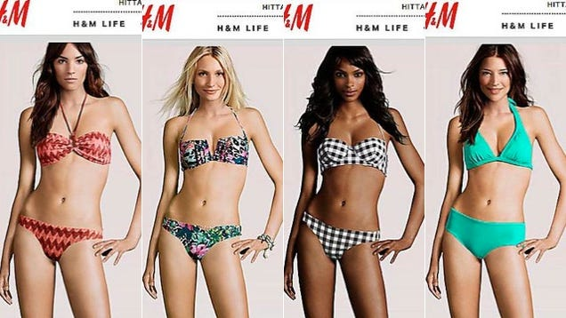 Design Clothes Online Virtual H amp M designs a body that can