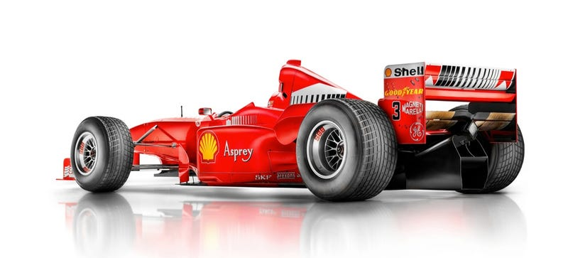 This Is An Absolutely Breathtaking Photo Of A Ferrari F1 Car