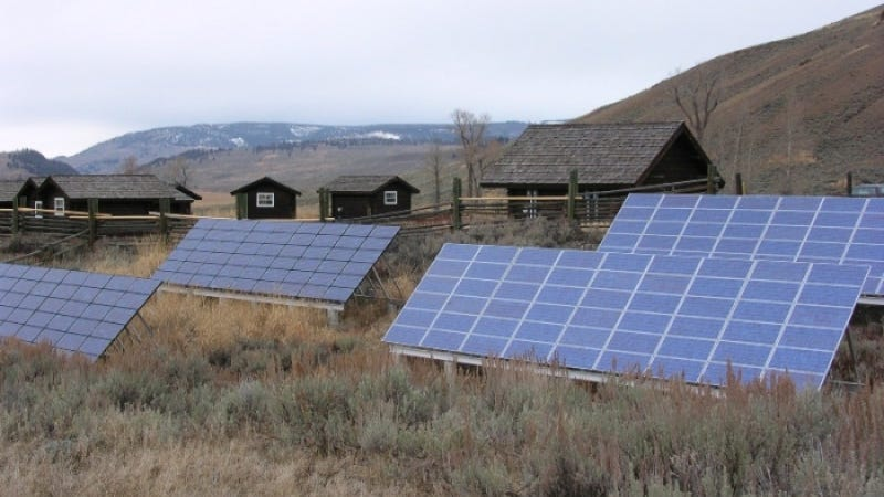 Used Toyota Camry Hybrid Batteries Will Power Buildings At Yellowstone