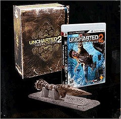 Uncharted 2 Collector's Edition Includes Art Book, Knife