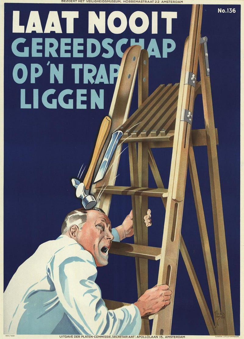 These Dutch Safety Posters Are Beautiful—But Utterly Disturbing