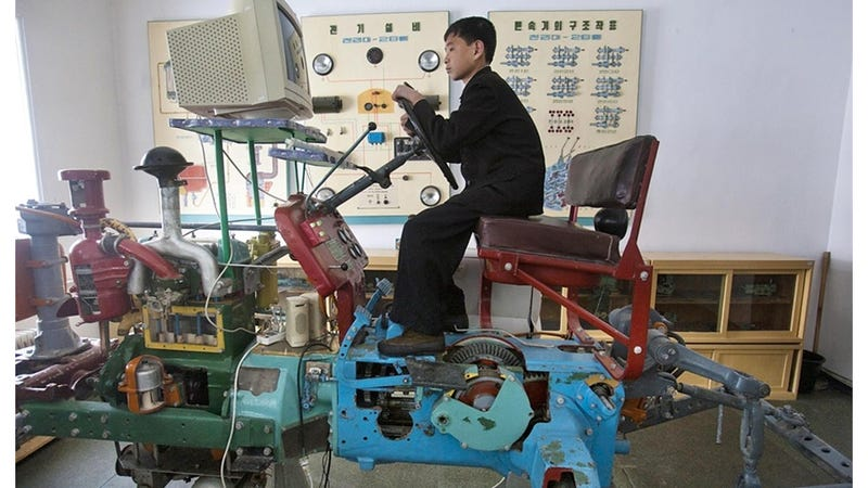 This Cutting-Edge Simulator Is How North Korea Trains the Farmers of the Future
