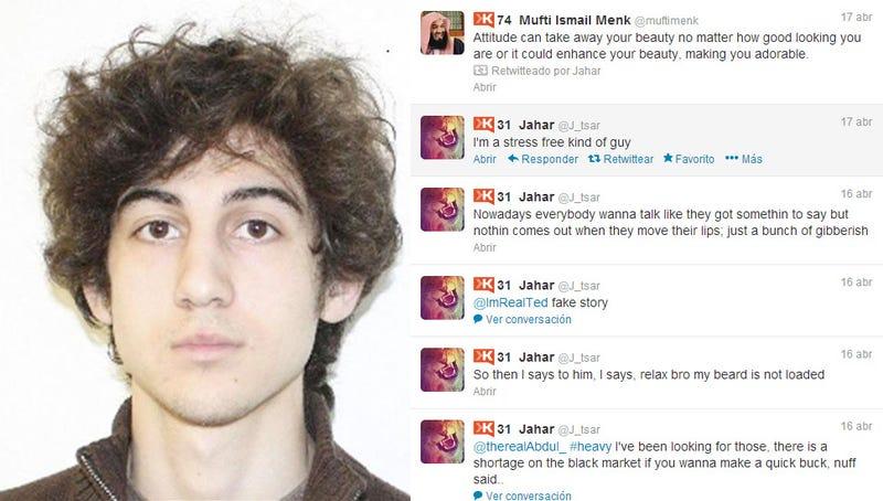 La cuenta de Twitter de uno de los sospechos del atentado de Boston