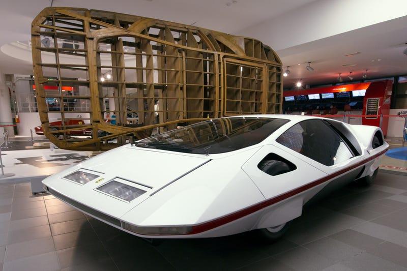 The Ferrari 512S Modulo Is The Weirdest Ferrari Ever By A Wide Margin