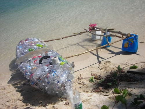 This DIY Plastic Bottle Kayak The Only Desert Island How To Guide You Need