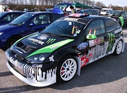 Fan-Boy Creates Ken Block Fiesta Rally Cosplay Car