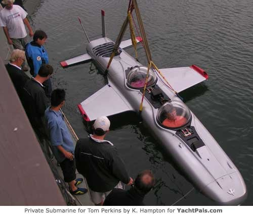 The Deep Flight Super Falcon Sub is Actually a Private Airplane for the Sea