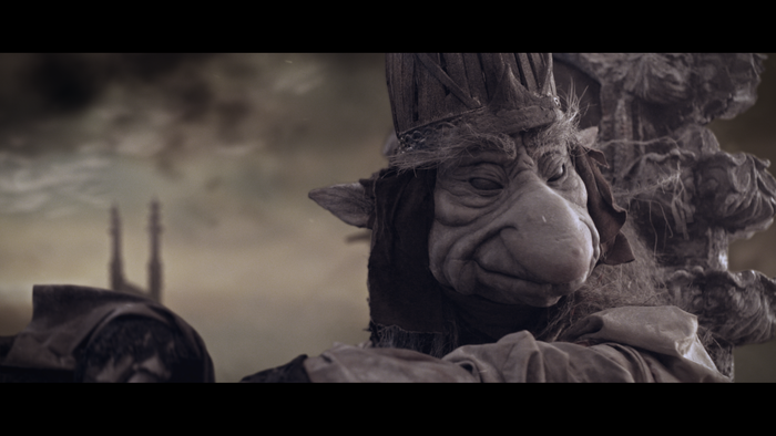 Stop everything and watch this trailer for a Froud/Henson short