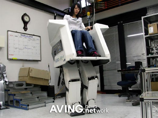 Chairbot Walks You Around While You Sit