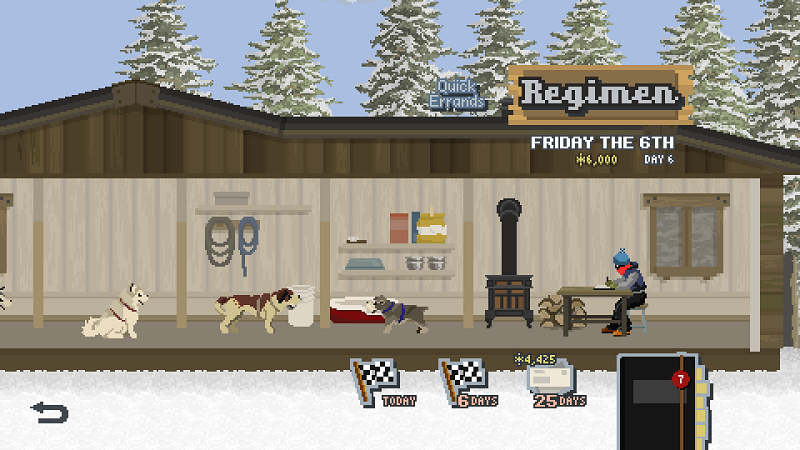 Race Into The Wilderness With Dog Sled Saga