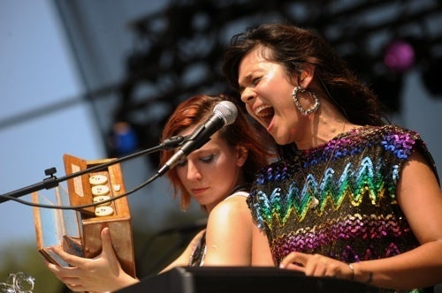 Women Rock Out At Lollapalooza