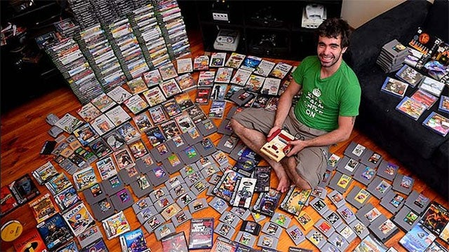 The Sad Story Of A Man Who's Selling His Game Collection For Love