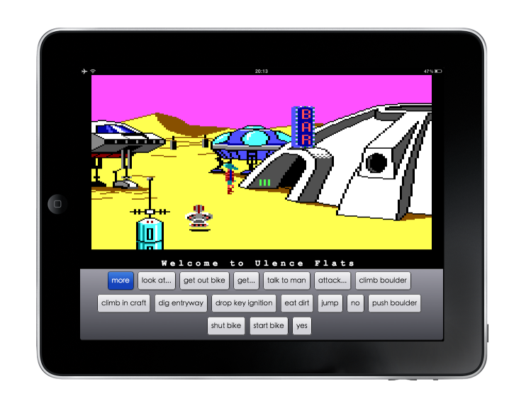 Sierra Point-and-Click Adventures: From the Web to your iPad