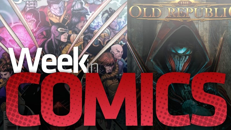 A Green Lantern Finale, an X-Men Split, The Old Republic and More New Comics Recommendations