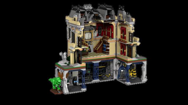 Lego Batcave 2016 Instructions