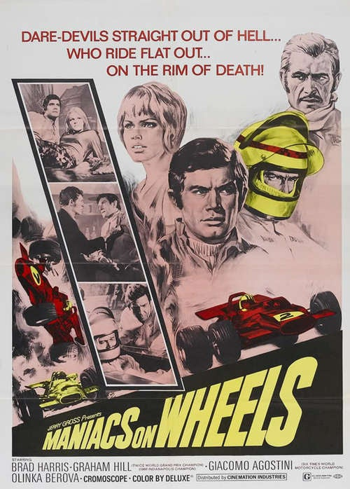 Car Movies May Suck, But Vintage Car Movie Posters Don't