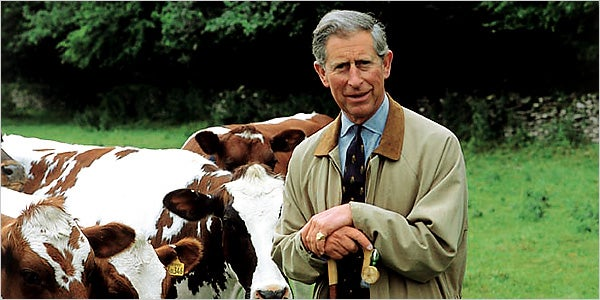 Prince Charles Will Pass His Duchy To The Left Hand Side
