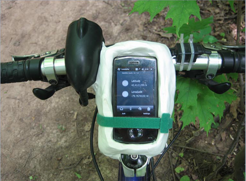 Make a Handlebar Phone Mount with Modeling Clay