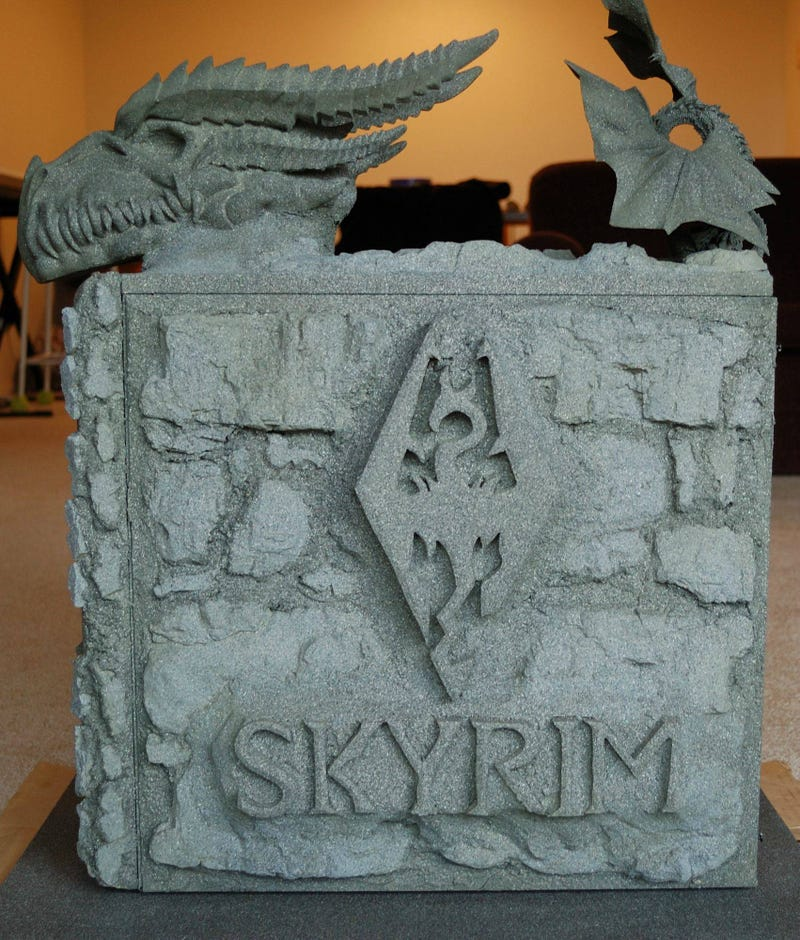 "Man Not Allowed to Call Child ""Dovahkiin"", Builds Skyrim PC Instead"