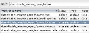 """Prevent Web Sites from Opening """"Naked"""" Windows in Firefox"""