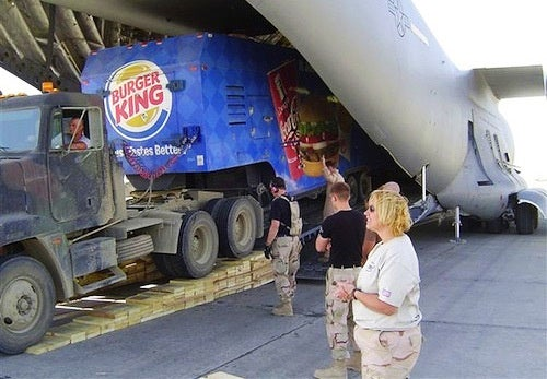 Burger King Is Re-Deploying to Afghanistan!