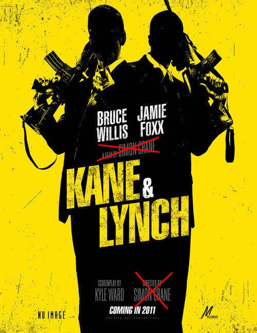 Report: Kane & Lynch Movie Loses Director