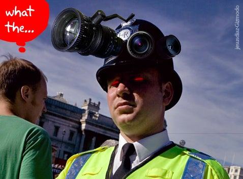 Bobby.TV versus Justin.TV, as UK Police Get Helmet Cams