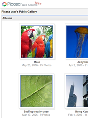 Picasa goes online with Web Albums