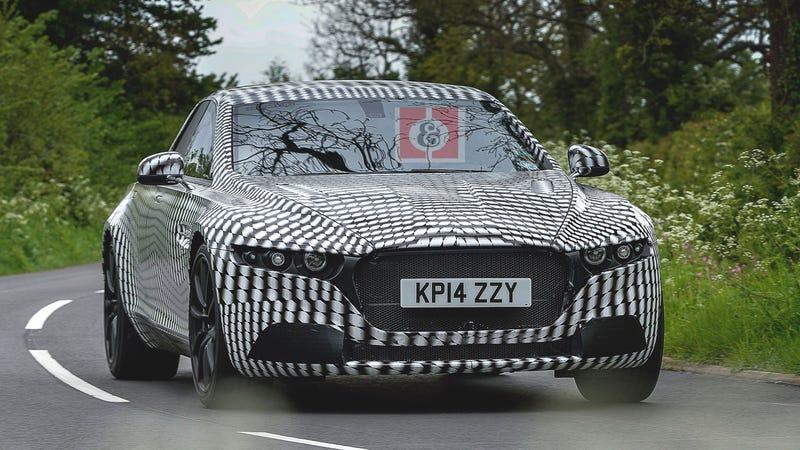 Aston Martin better name this super-limo Lagonda