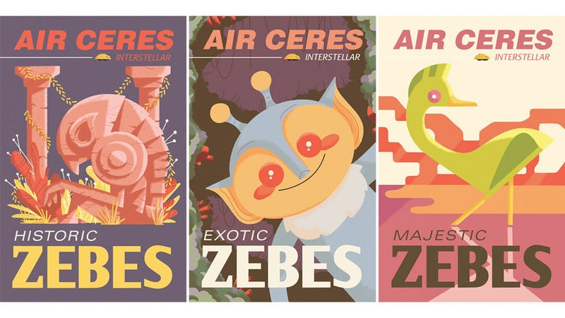 Metroid Travel Posters Make Zebes Look Like A Lovely Vacation Destination