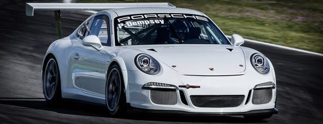 Let's Make Patrick Dempsey's 911 GT3 Cup Car Super Awesome