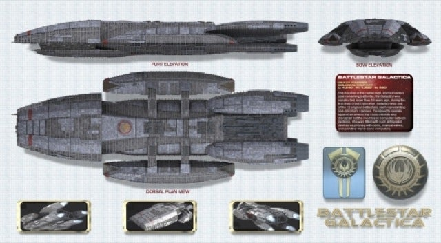 Battlestar Galactica Confused with Futuristic Aircraft Carriers