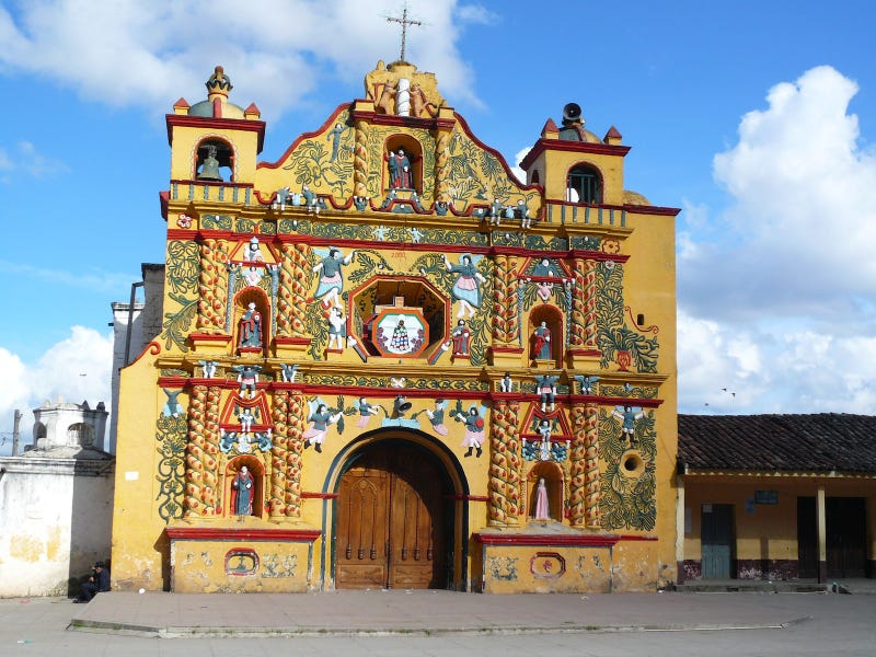 Some of the weirdest and most beautiful church decorations of all time