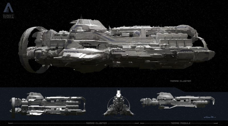 Progressive Near Me >> Spaceship concept art that will blow your post-apocalyptic ...