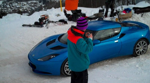 Lotus Evora James Bond 23: First Photos