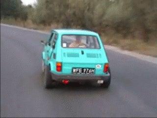 Lil Fiat 126 mindfuck! ^_^