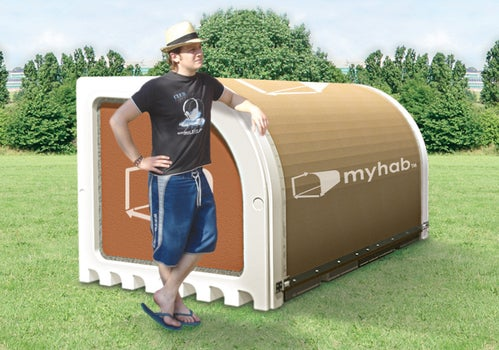 Myhab Recyclable Concert Dwellings Now Available For You to Do Horrible, Horrible Things In