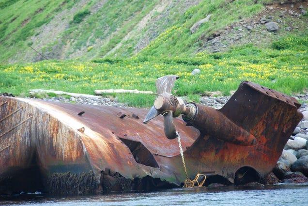 El distópico mundo de las bases de submarinos abandonadas 805315692414199725