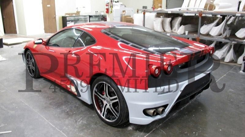 Premier4509 Modified Ferrari F430 In Final Stages Of Scuderia Look-A-Likeness