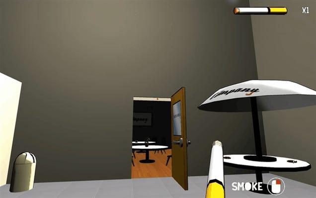 Smoking Simulator Simulates Not Just Smoking, But Murderous Rampages
