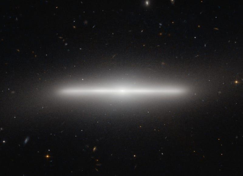 A Galaxy, Edgewise