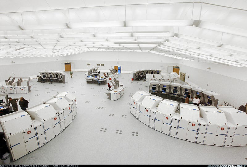 Bulgarian Air Control Center Looks Like a Set From THX 1138